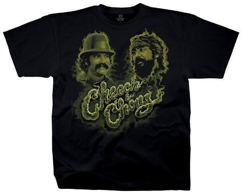 Cheech & Chong - Green Smoke T-Shirt