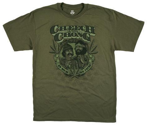Cheech & Chong - In Weed We Trust T-Shirt