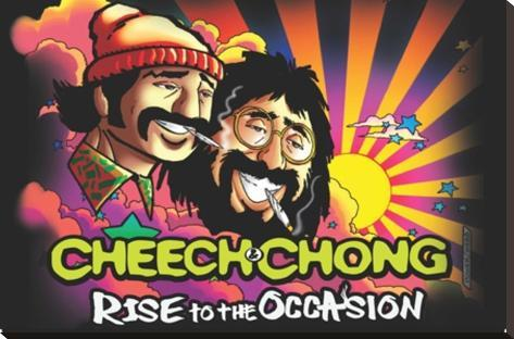 Cheech & Chong- Rise To The Occasion Bedruckte aufgespannte Leinwand