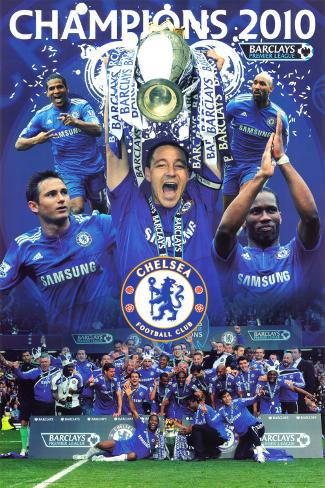 Chelsea F.C. - 2010 Champions Poster