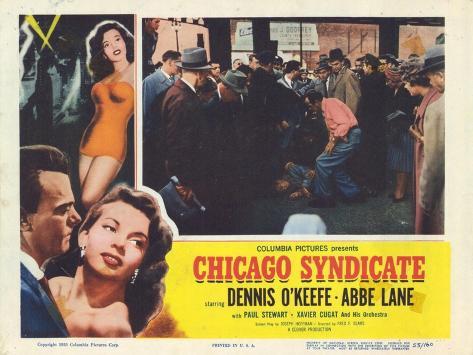 Chicago Syndicate, 1955 Kunstdruck