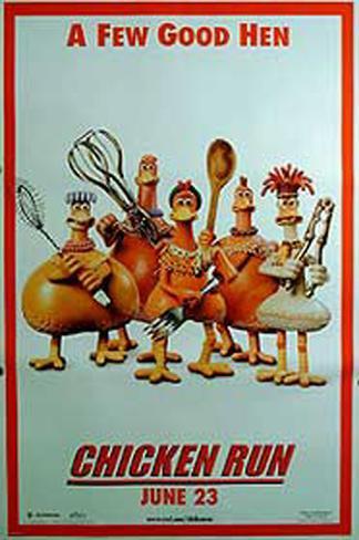 Chicken Run– Hennen rennen Doppelseitiges Poster
