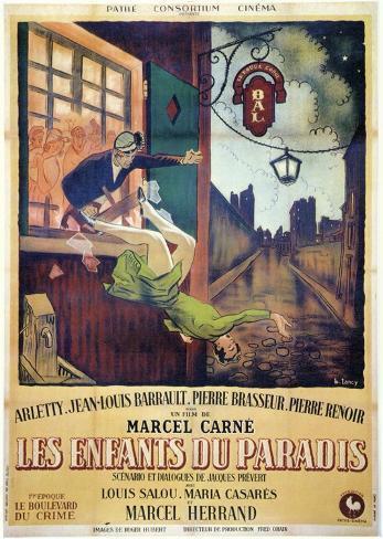 Children of Paradise Movie Poster Masterprint