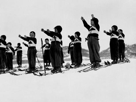 Children of the 'Figli Della Lupa' (Sons of the She Wolf) Fotografie-Druck