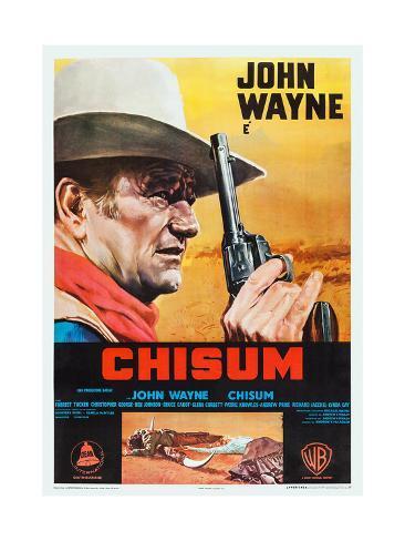 Chisum, 1970 Giclée-Premiumdruck