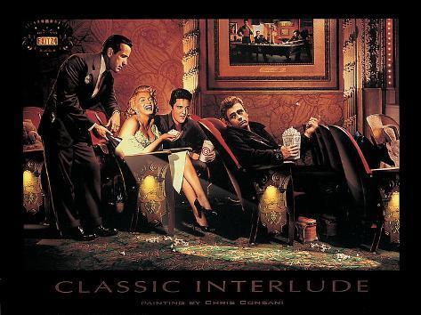 Chris Consani Klassiek Intermezzo Met James Dean Elvis Presley