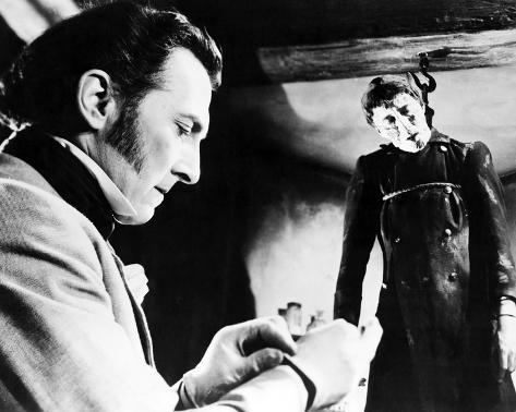 Christopher Lee, The Curse of Frankenstein (1957) Foto
