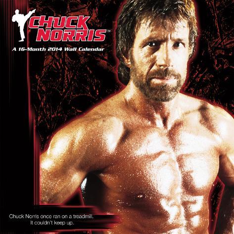 Chuck Norris - 2014 Calendar Kalenders