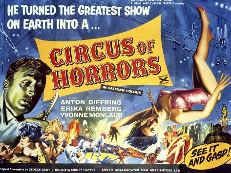 Circus of Horrors Kunstdruck