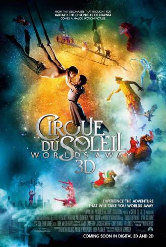 Cirque du Soleil: Worlds Away Movie Poster Neuheit