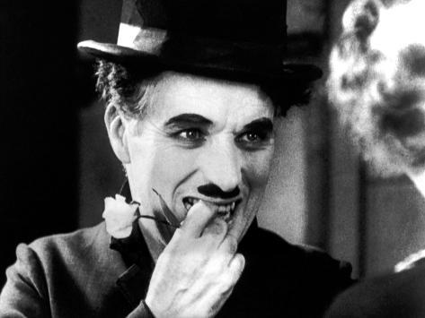 City Lights, Charlie Chaplin, Virginia Cherrill, 1931 Foto