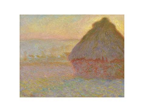 an analysis of grainstack sunset by claude monet Grainstack (sunset), 1891 by claude monet massive range of art prints, posters & canvases quality uk framing & 100% money back guarantee.