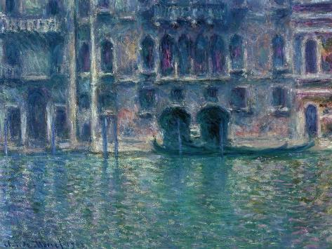 Palazzo Da Mula, Venice, 1908 Giclée-Druck