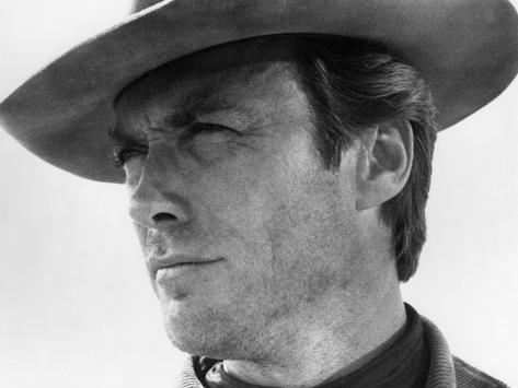 Clint Eastwood, 1968 Fotografie-Druck