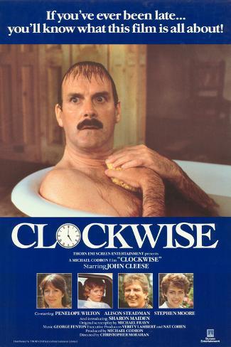Clockwise Kunstdruck