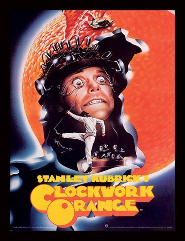 Clockwork Orange - sinaasappelschil Verzamelaarsprint