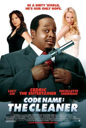 Code Name: The Cleaner Originalposter