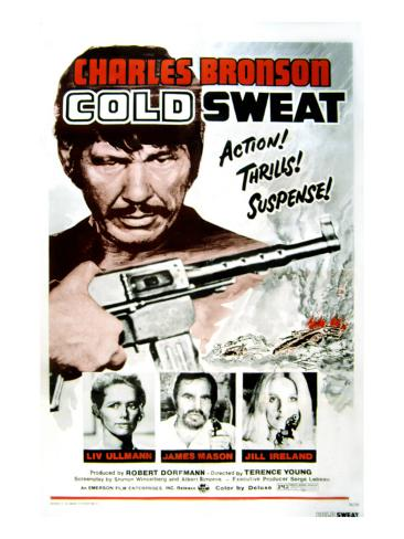 Cold Sweat, Charles Bronson, Liv Ullmann, James Mason, Jill Ireland, 1970 Foto