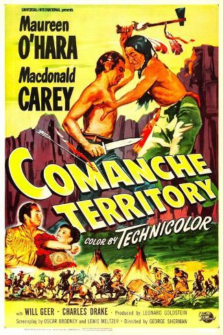Comanche Territory Kunstdruck