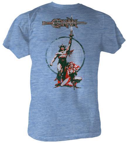 Conan the Barbarian - Movie Poster T-Shirt