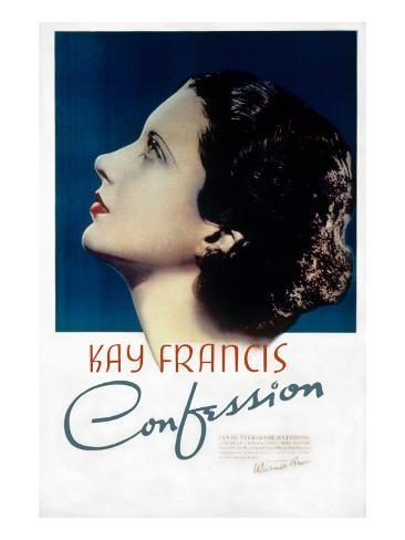Confession, Kay Francis, 1937 Foto