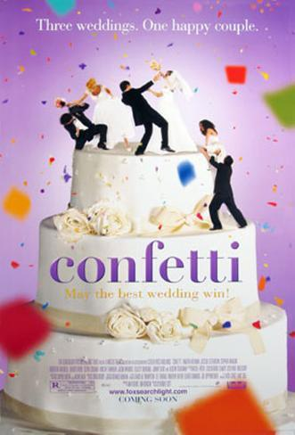 Confetti- Heirate lieber ungewöhnlich Originalposter
