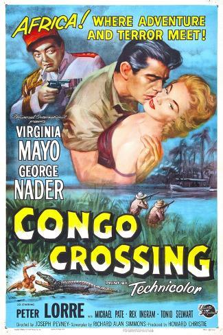 Congo Crossing Kunstdruk