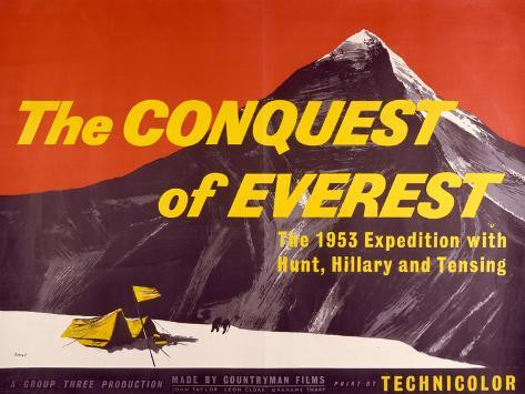 Conquest of Everest (The) Kunstdruck