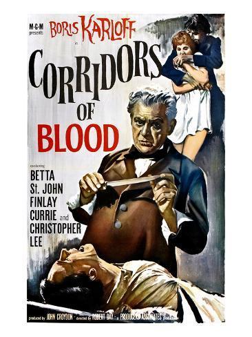 Corridors of Blood, Boris Karloff, 1958 Foto