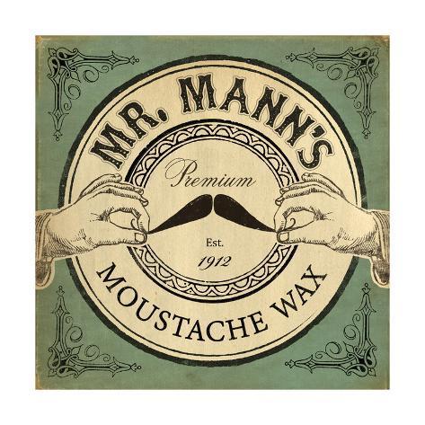 Mr. Mann's Giclée-Premiumdruck