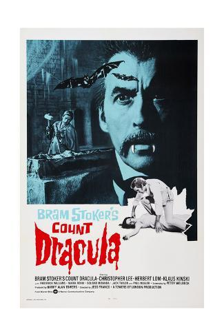 Count Dracula Giclée-Druck