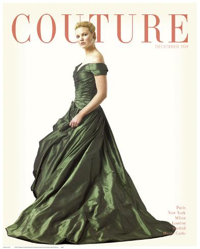 Couture, December 1959 Kunstdruck