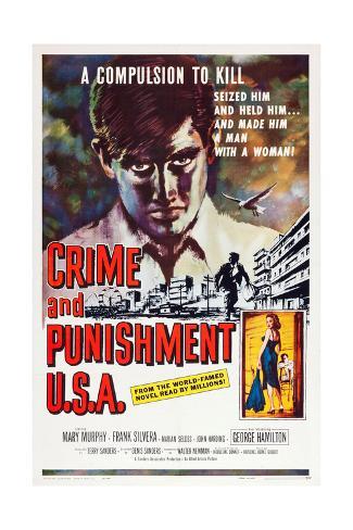 Crime and Punishment U.S.A. Giclée-Druck