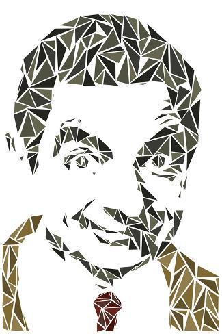 Mr. Bean Kunstdruck