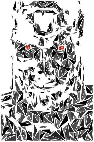 Terminator Robot Kunstdruck
