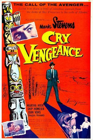 Cry Vengeance Kunstdruck