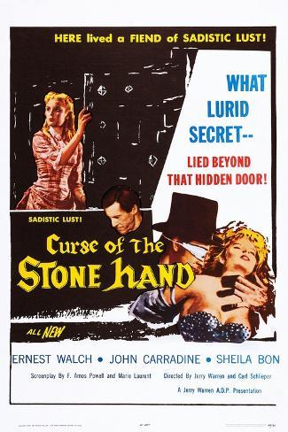 Curse of the Stone Hand Kunstdruck