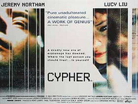 Cypher Originalposter