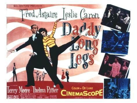 Daddy Long Legs, Fred Astaire, Leslie Caron, 1955 Foto