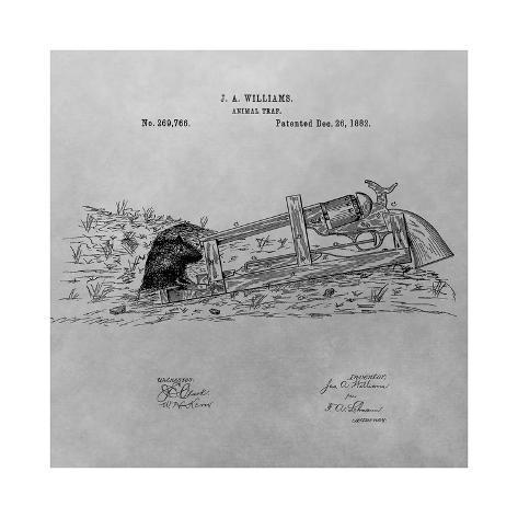 Animal Trap, 1882-Gray Giclée-Druck