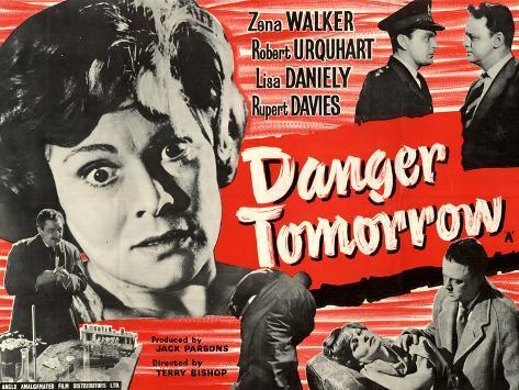 Danger Tomorrow Kunstdruck