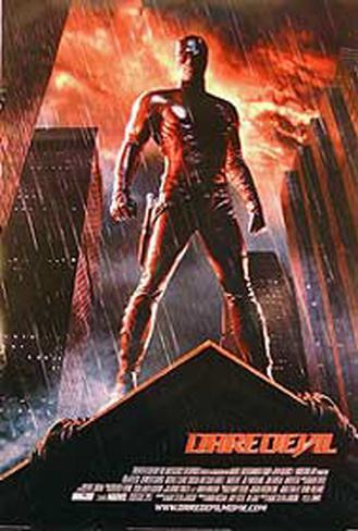 Daredevil - Affleck Originalposter