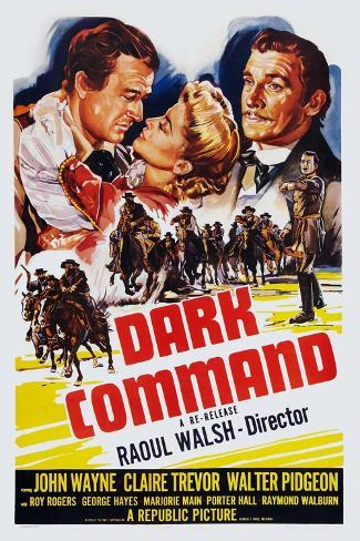 Dark Command, 1940 Kunstdruck
