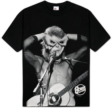 david bowie hand over eyes t shirts bei. Black Bedroom Furniture Sets. Home Design Ideas