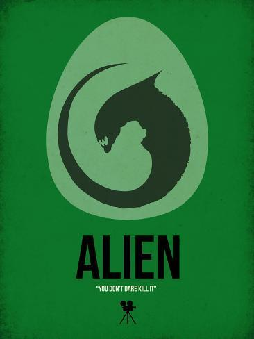 Filmposter Alien Kunstdruk