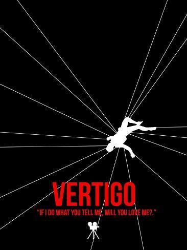 Filmposter Vertigo Kunstdruk