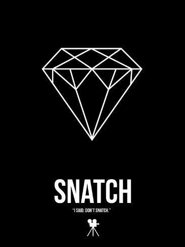 I Said: Don't Snatch Giclée-Premiumdruck