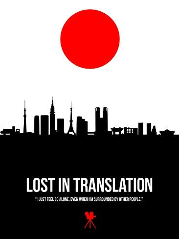 Lost in Translation- Zwischen den Welten Kunstdruck