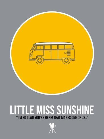 Miss Sunshine Kunstdruk
