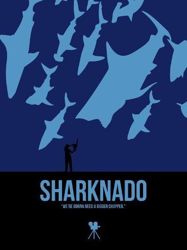 Sharknado Kunstdruck